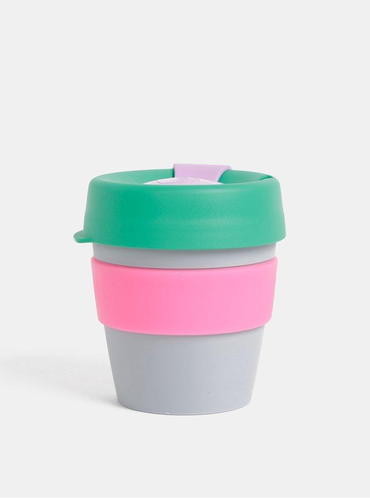 Zeleno-šedý cestovní hrnek KeepCup Original small 227 ml