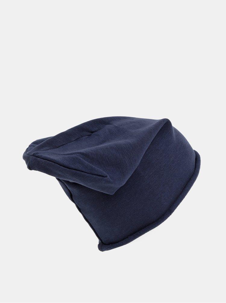 Tmavě modrá čepice Jack & Jones Washed