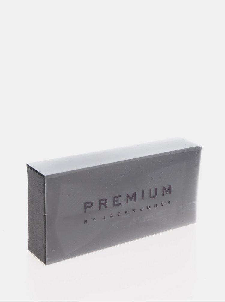 Černý motýlek s drobným vzorem Jack & Jones Premium Colombia