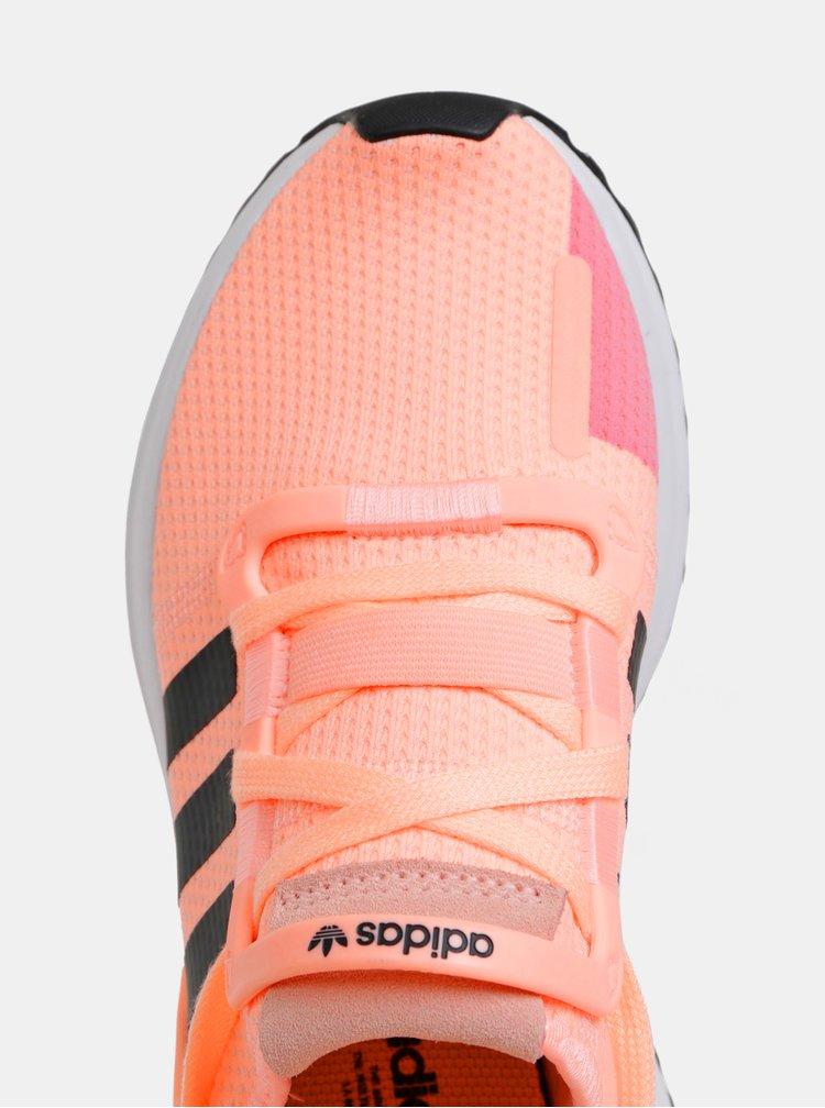 Neonově oranžové dámské tenisky adidas Originals U_Path