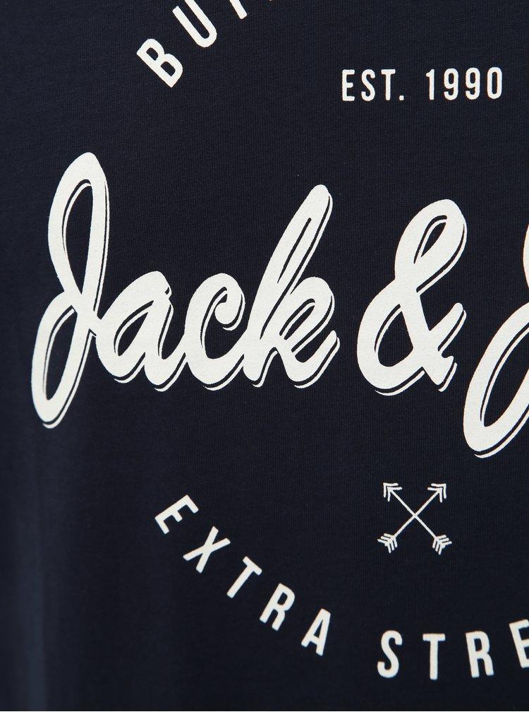 Tmavě modré tričko Jack & Jones Rafa