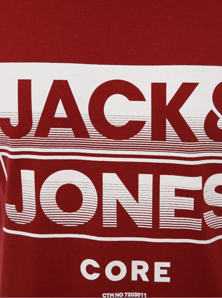 Vínové tielko s potlačou Jack & Jones Lee