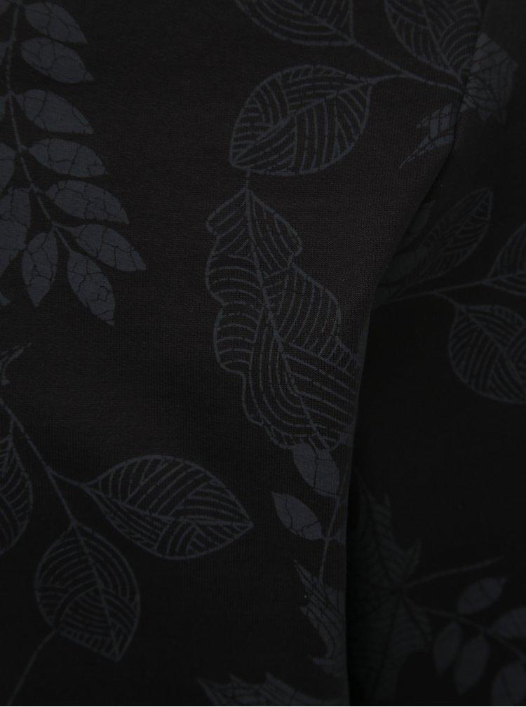 Čierna mikina s potlačou ONLY & SONS Belkin