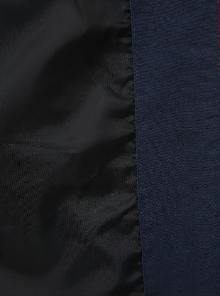 Vínovo-modrá bunda ONLY & SONS Spencer