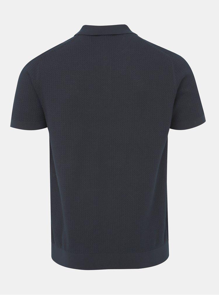 Tmavě modré polo tričko Selected Homme Virgo