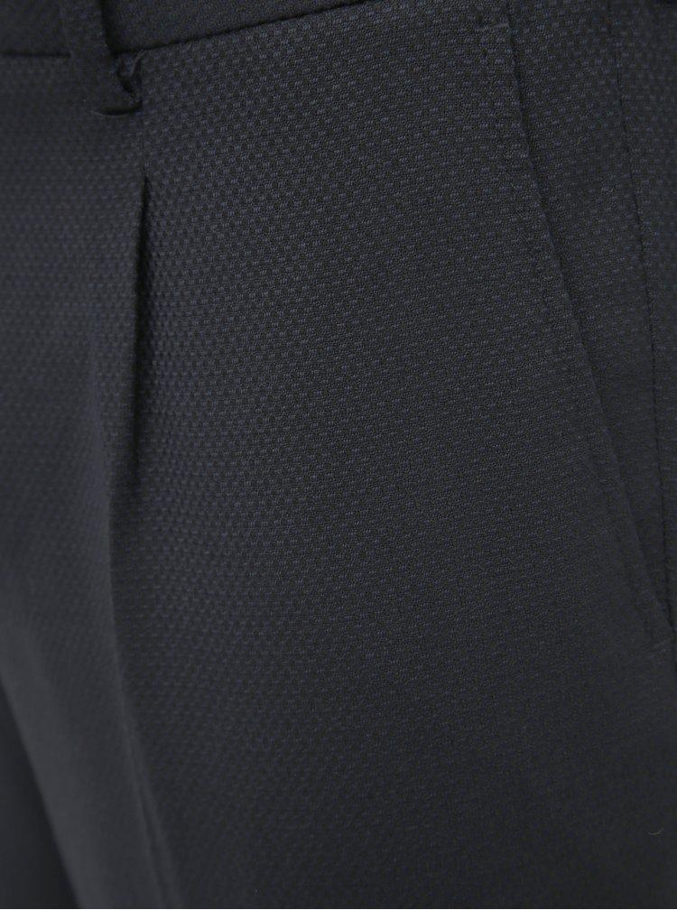 Čierne slim fit nohavice Selected Homme Leo