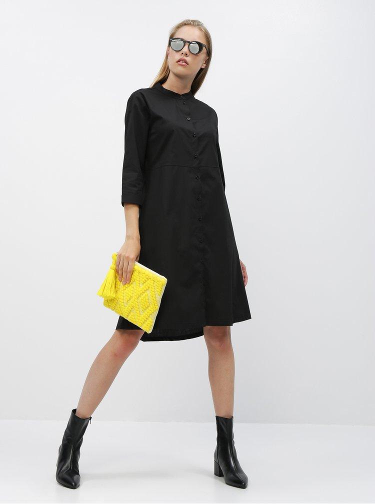 Černé košilové šaty ZOOT