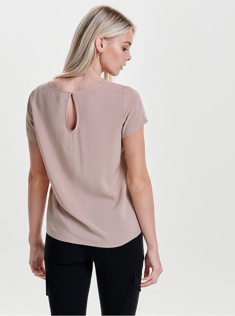 Bluza roz deschis ONLY First
