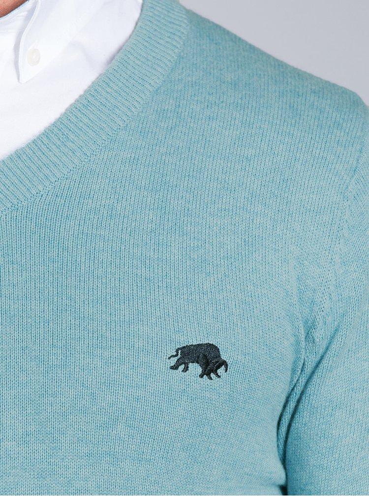 Svetlomodrý sveter Raging Bull