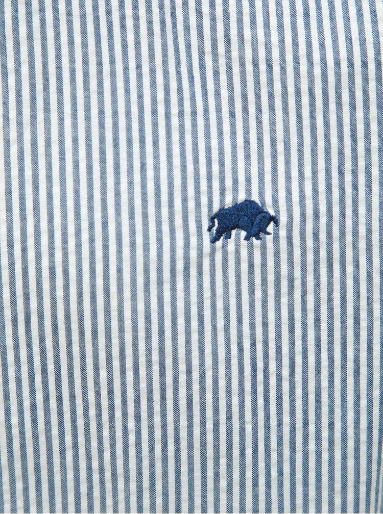Camasa albastra in dungi Raging Bull