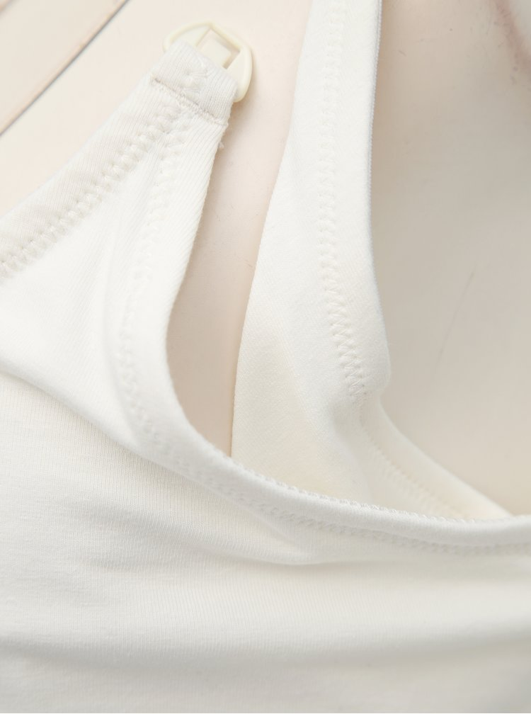 Sada dvou kojicích tílek v bílé a černé barvě Mama.licious Kea