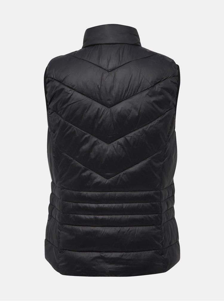 Černá prošívaná vesta VERO MODA Soraya