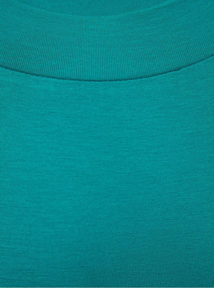 Tyrkysové tričko Yest