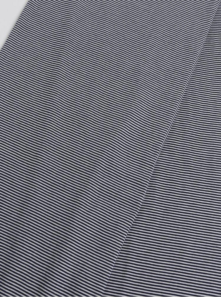 Tmavě modrá pruhovaná šála Tom Joule Coast