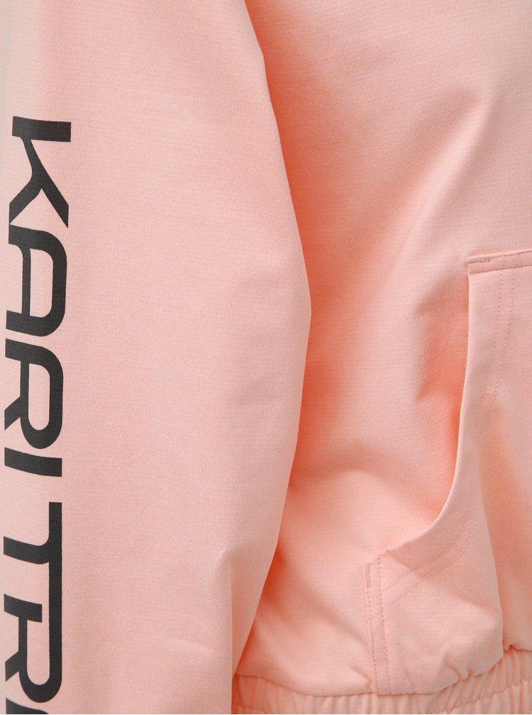 Růžová mikina Kari Traa Vilde
