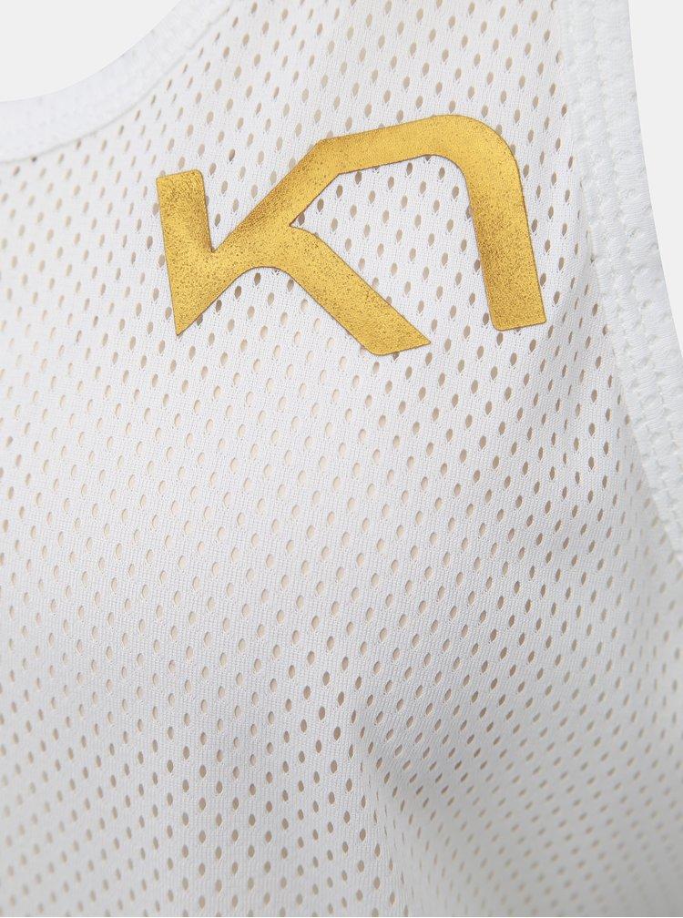 Bílý sportovní top Kari Traa Vilde