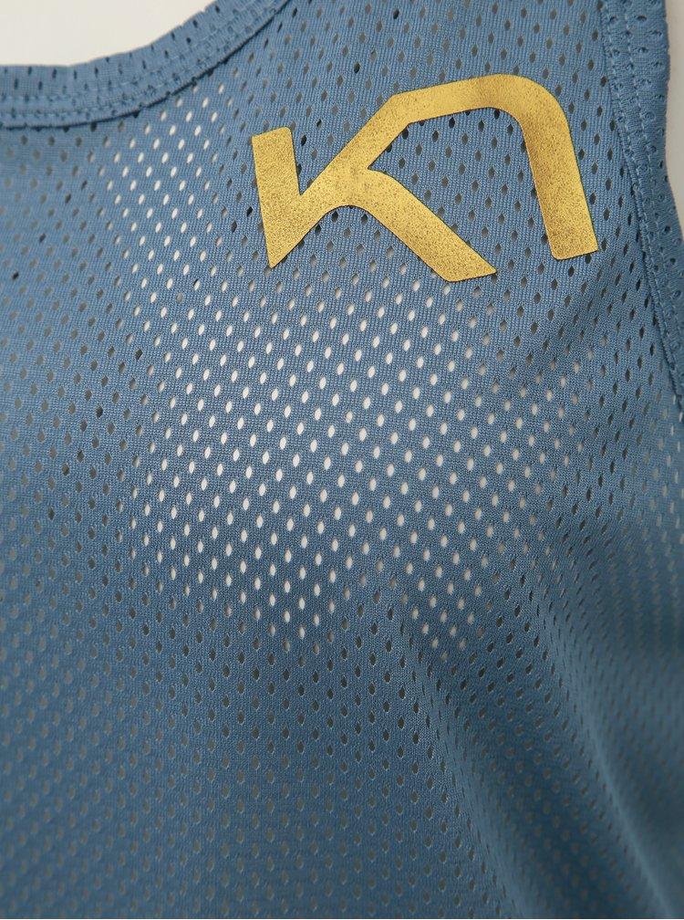 Modrý sportovní top Kari Traa Vilde