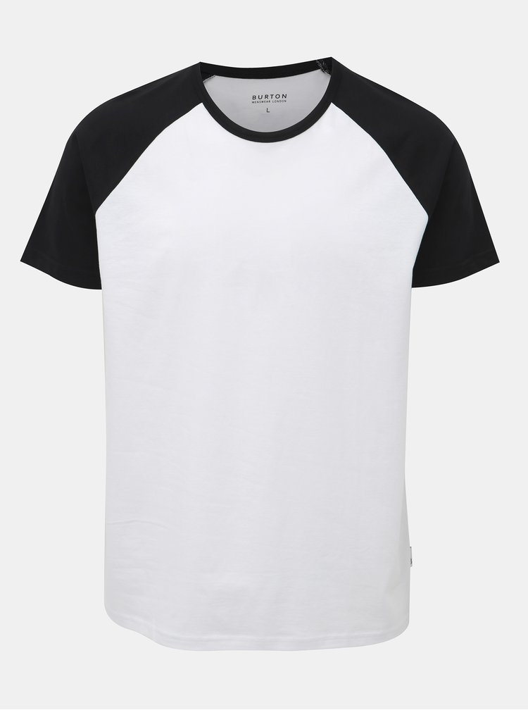 Čierno-biele tričko Burton Menswear London