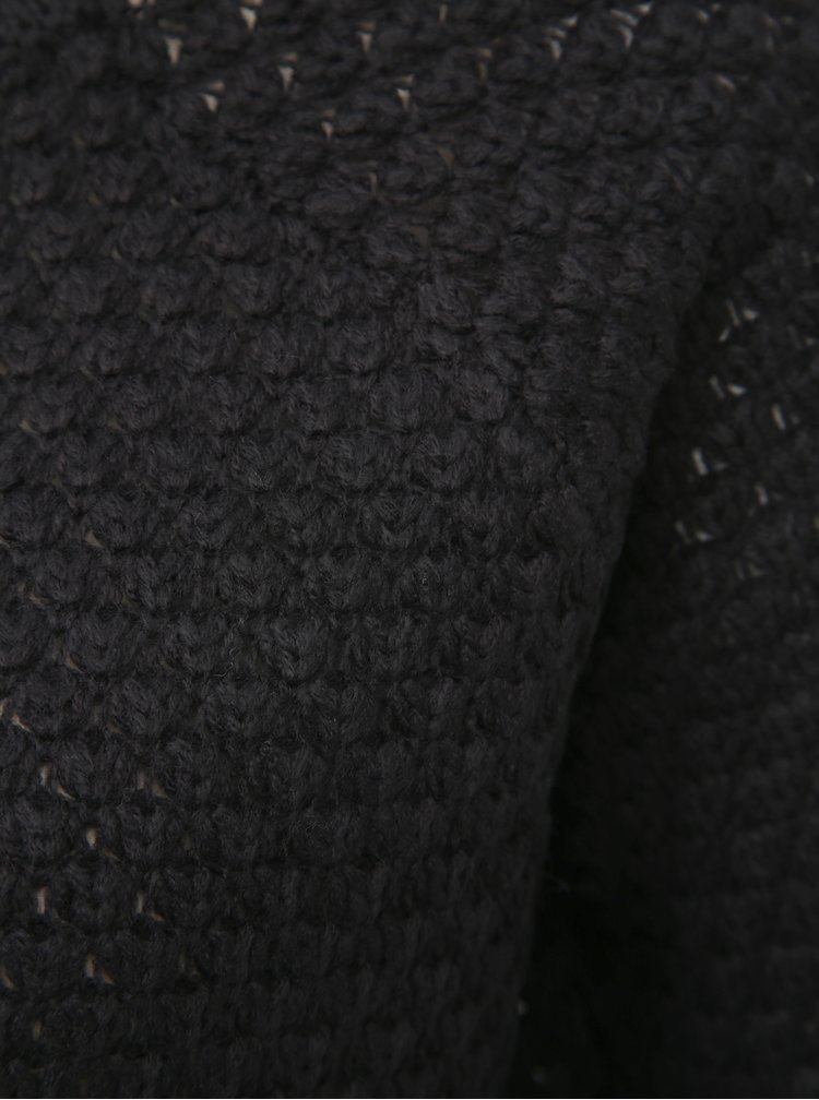 Černý svetr VERO MODA Esme