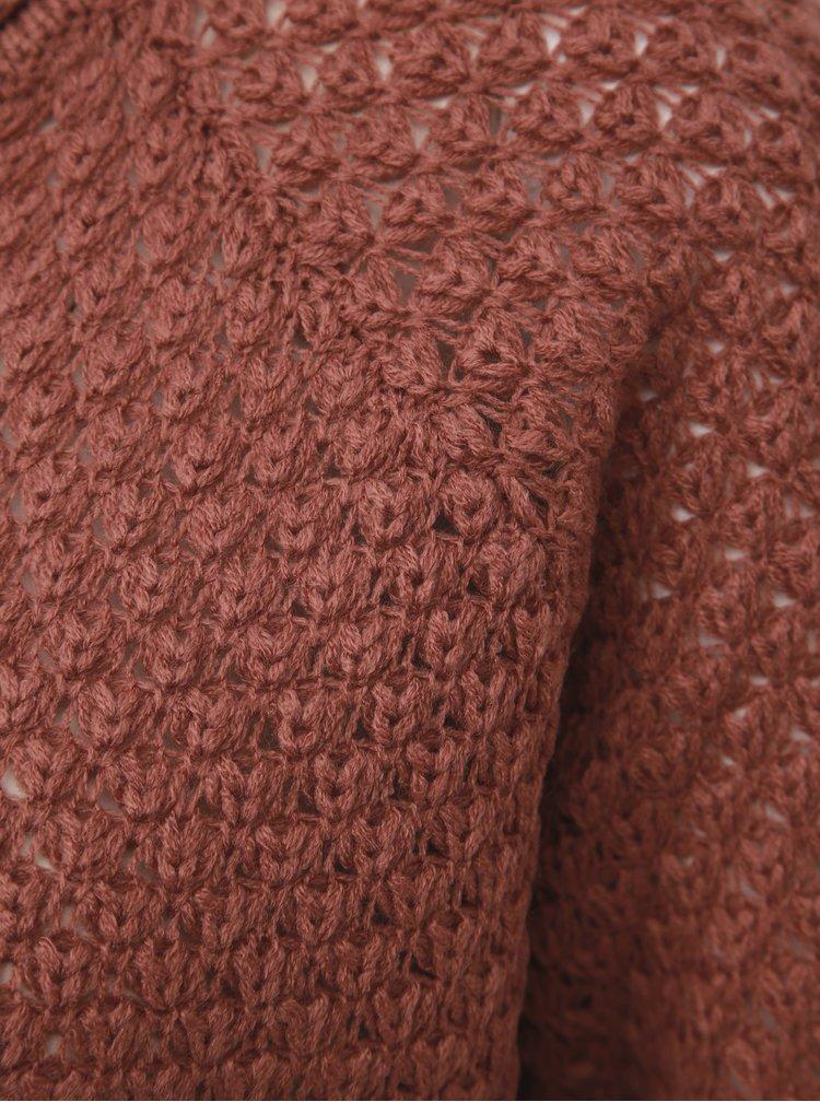 Tehlový sveter VERO MODA Esme