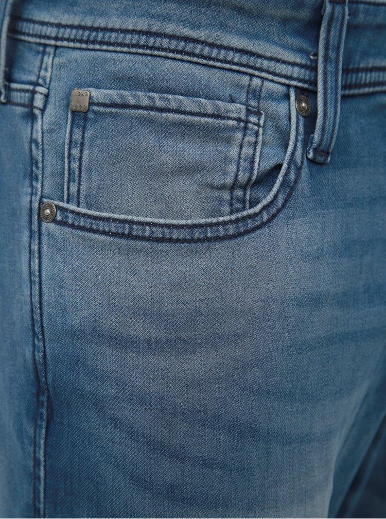 Modré slim fit džíny Jack & Jones Glenn
