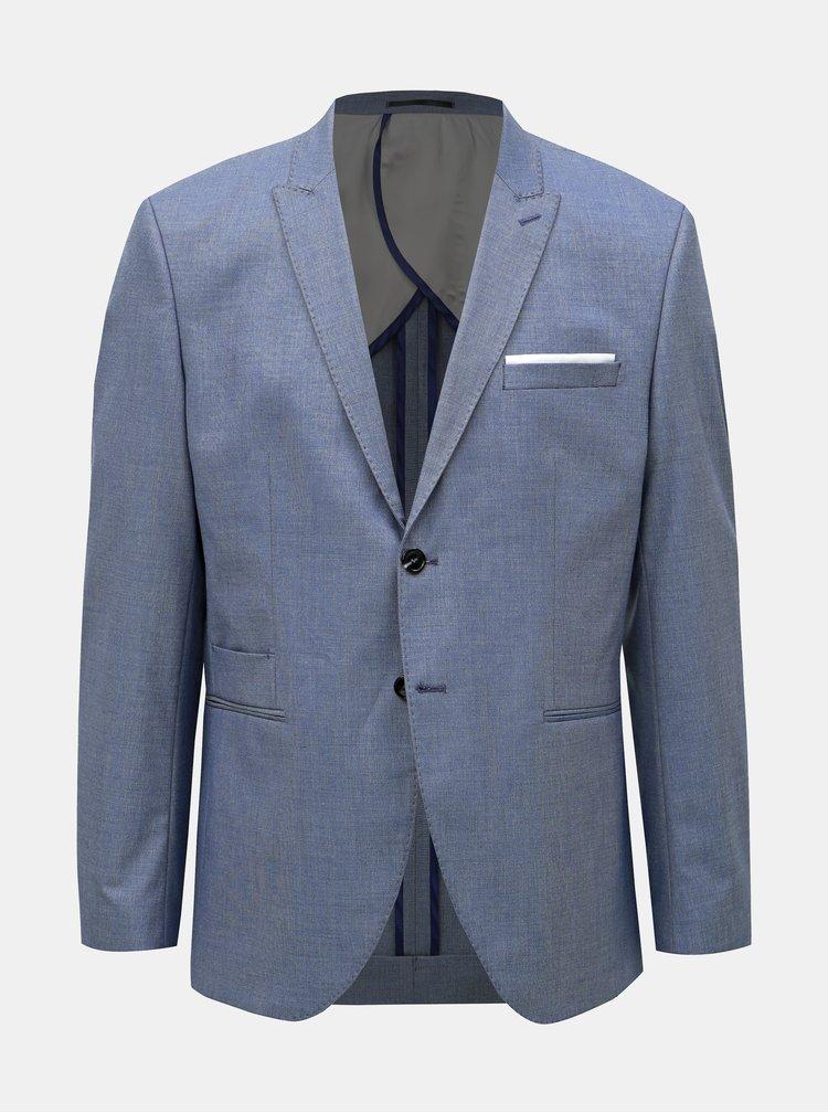 Sacou formal albastru slim fit Selected Homme Freesum