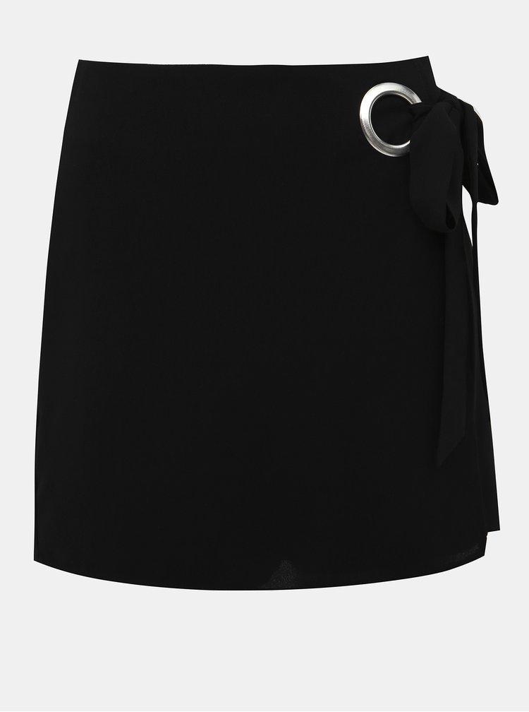 Čierne šortky Dorothy Perkins