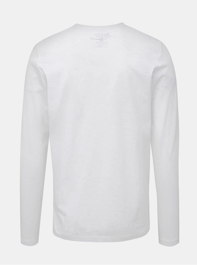 Biele tričko s vreckom Blend