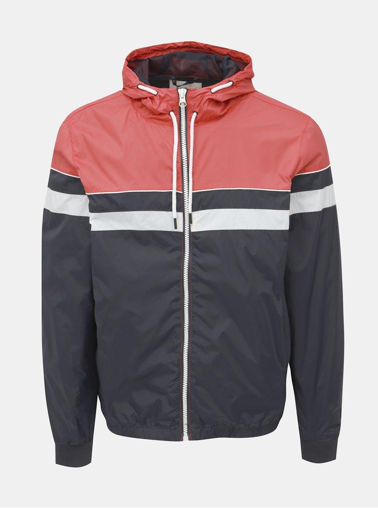 Červeno-černá lehká bunda Blend