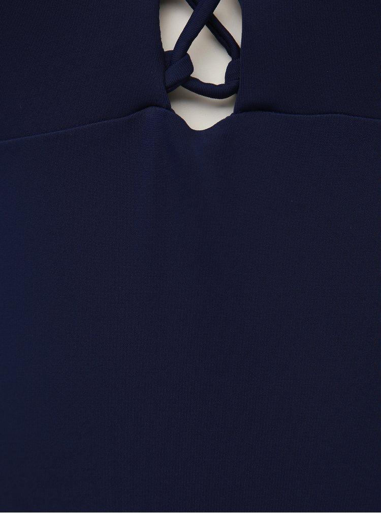 Tmavě modré jednodílné plavky Dorothy Perkins