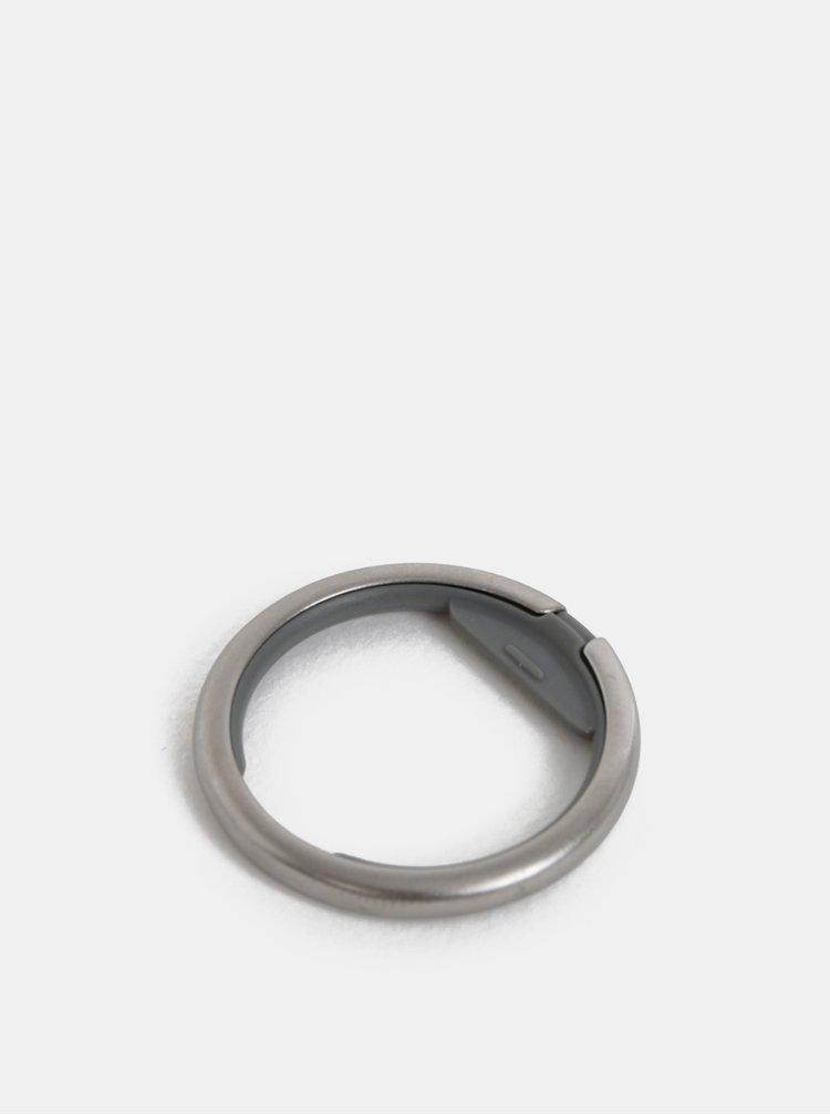 Kroužek na klíče ve stříbrné barvě Orbitkey