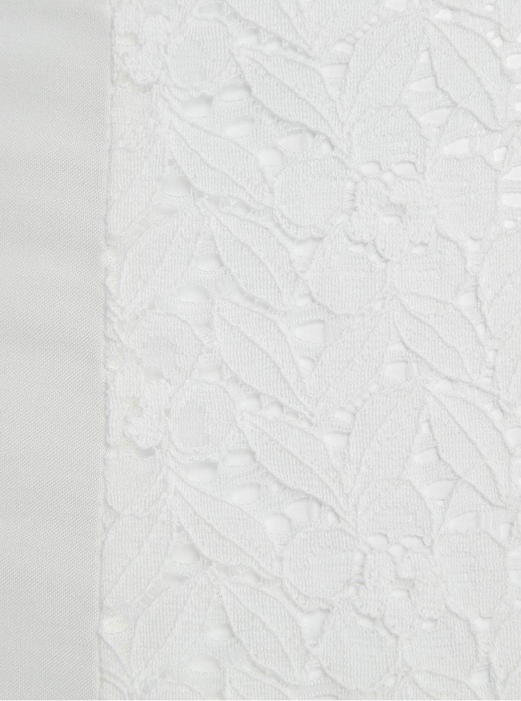 Bílá halenka s krajkou Haily´s Amely