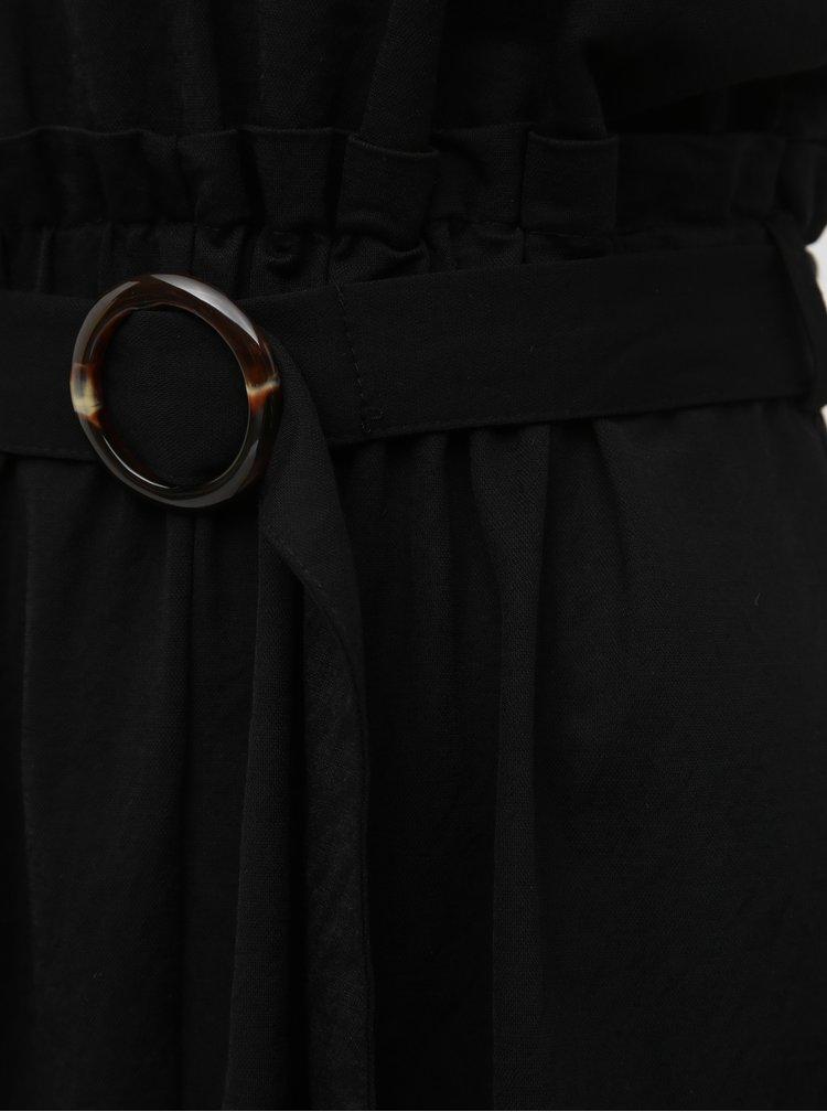 Černé midišaty Haily´s Kailey