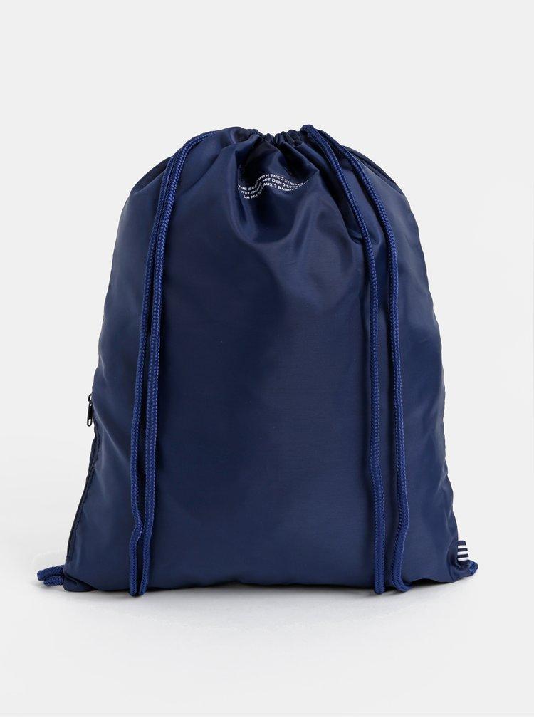 Tmavě modrý vak s potiskem adidas Originals