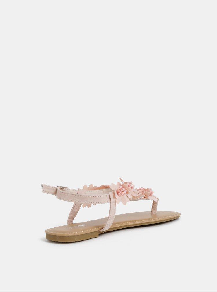 Růžové dámské sandály Haily´s Sophia