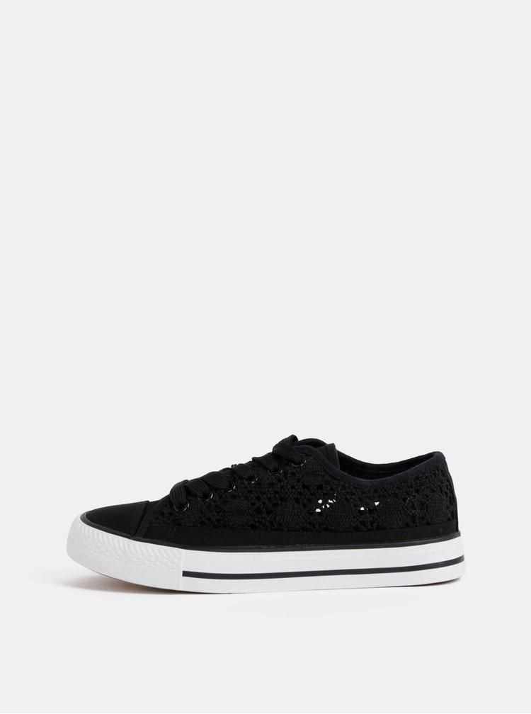 Pantofi sport si tenisi pentru femei Hailys - negru