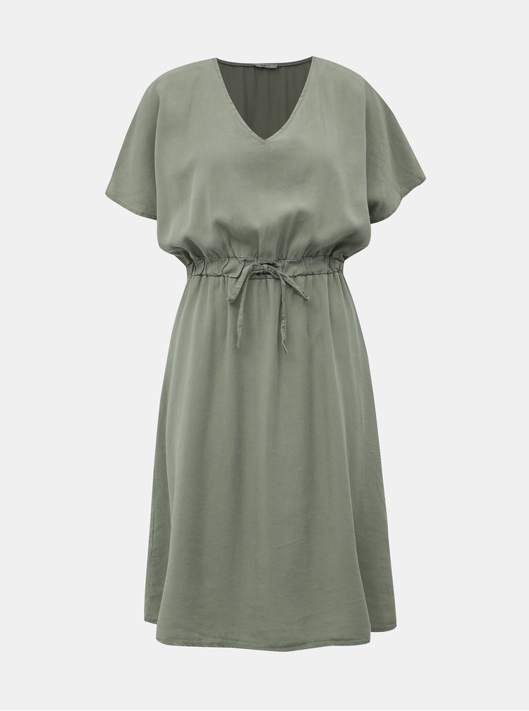 Khaki šaty Haily´s Elle