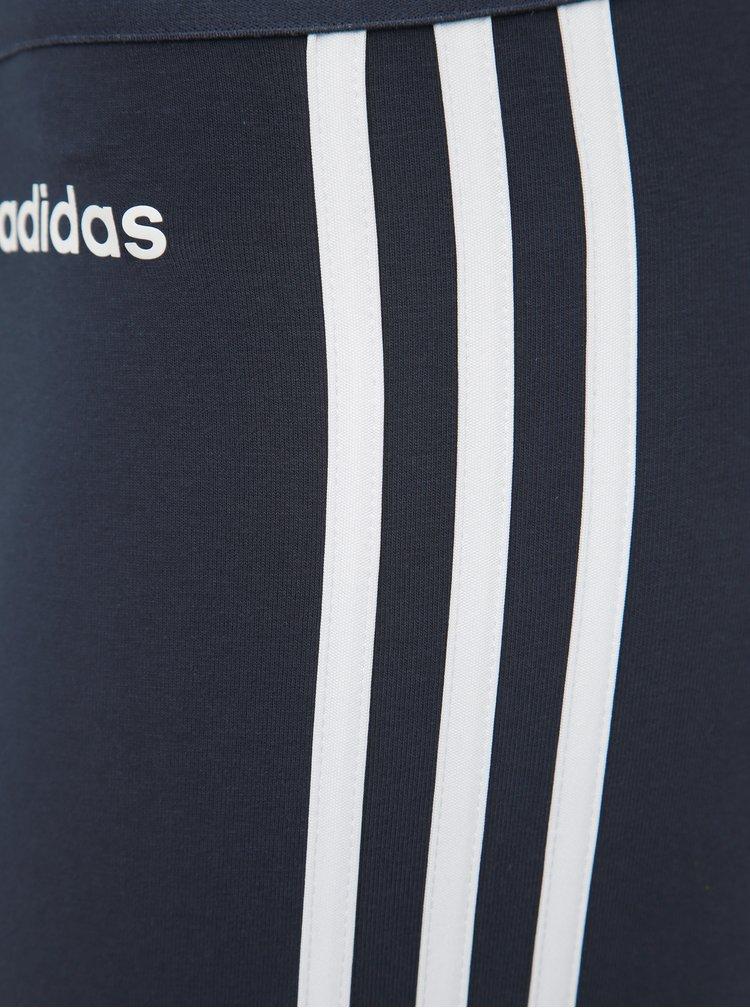 Tmavě modré legíny adidas CORE