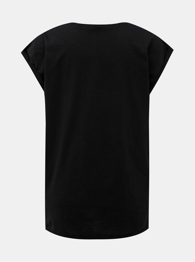 Černé dámské tričko ZOOT Original Dneska nepiju