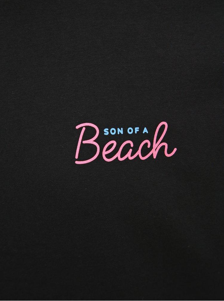 Černé pánské tričko ZOOT Original Son of a beach