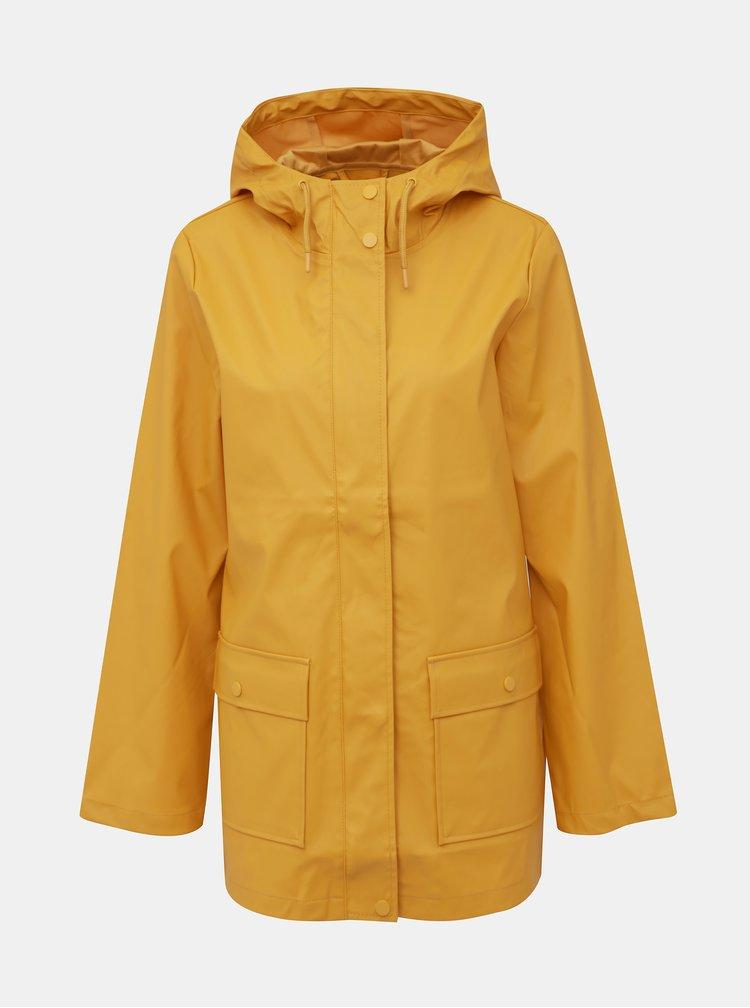 Svetlooranžová vodeodolná bunda Dorothy Perkins