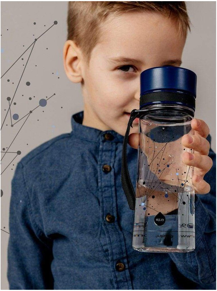 Plastová láhev s galaktickým vzorem EQUA (600 ml)