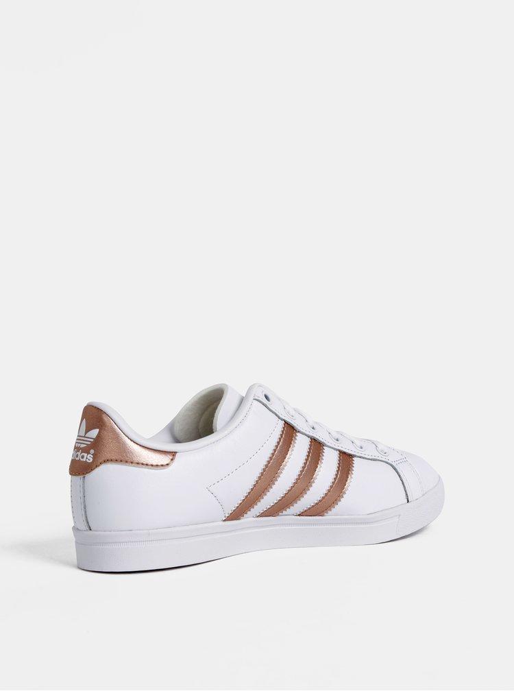 Bílé kožené tenisky adidas Originals Coast Star