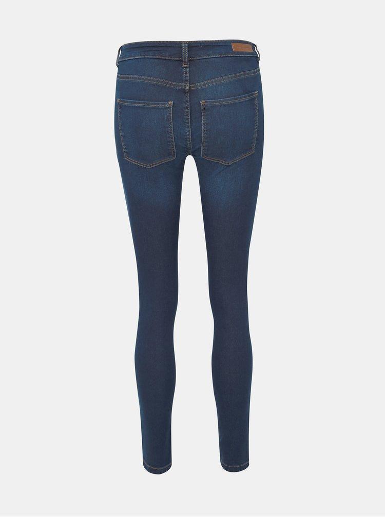 Tmavě modré skinny fit džíny Jacqueline de Yong Nikki