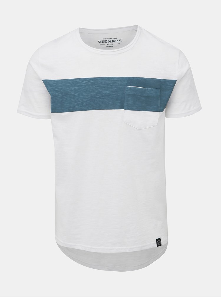 Biele tričko s vreckom Shine Original