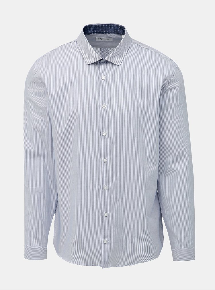 Svetlomodrá pruhovaná košeľa Lindbergh