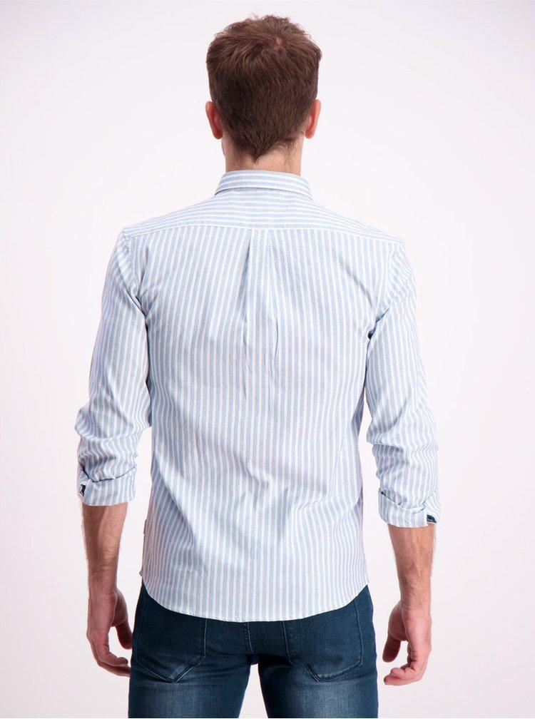 Světle modrá pruhovaná košile Lindbergh