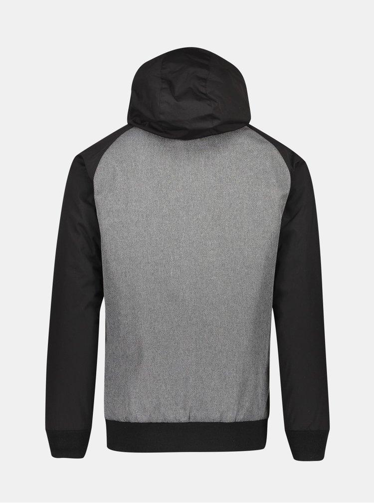 Černo-šedá zimní bunda Shine Original