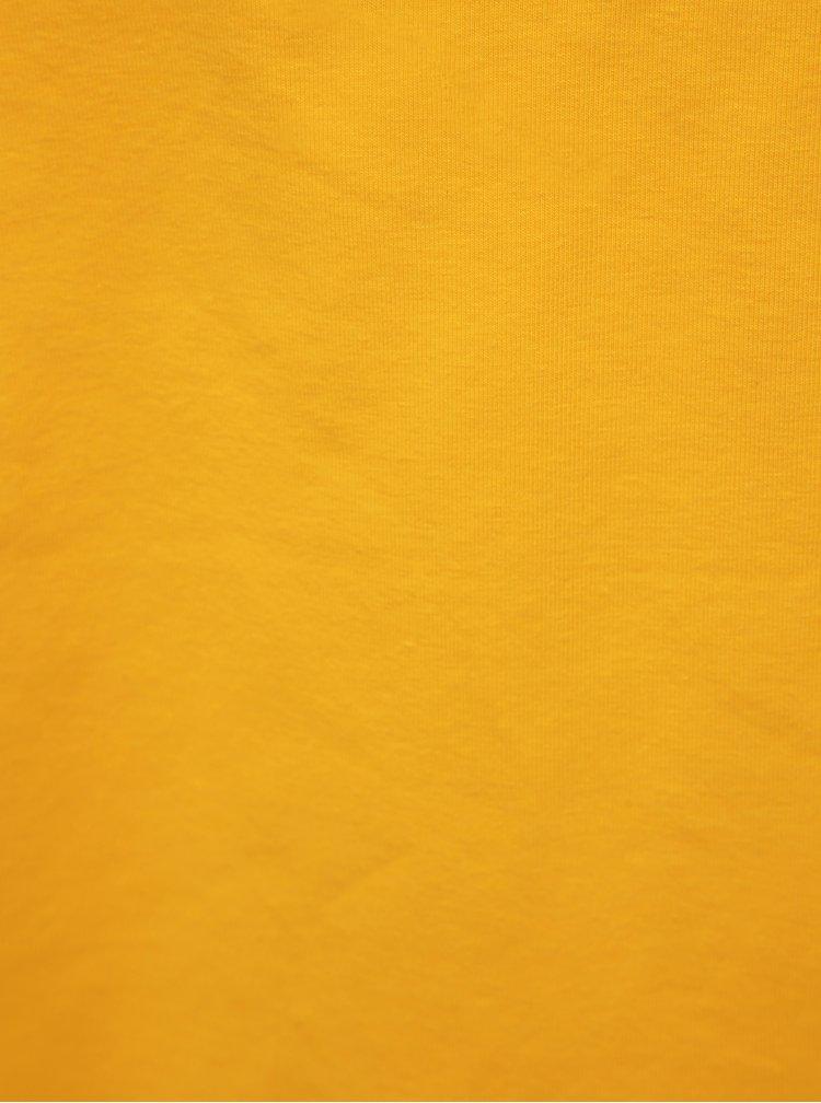 Žltý basic crop top ONLY Live
