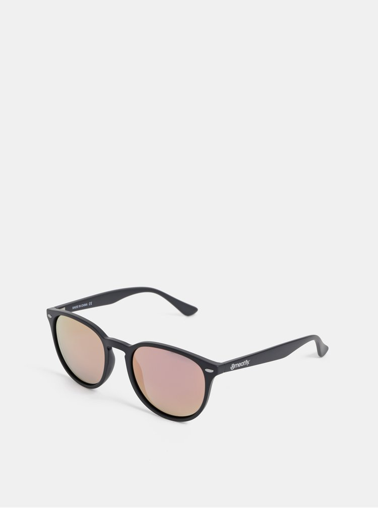 Černé sluneční brýle Meatfly Beat
